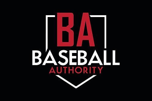 Baseball Authority Sticker