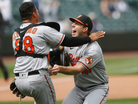 John Means Throws Orioles' First Solo No-Hitter Since 1969