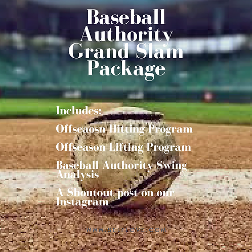 Baseball Authority Grand Slam Package