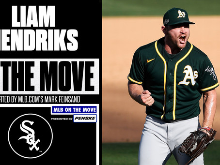 Liam Hendriks agrees to deal with Chicago White Sox