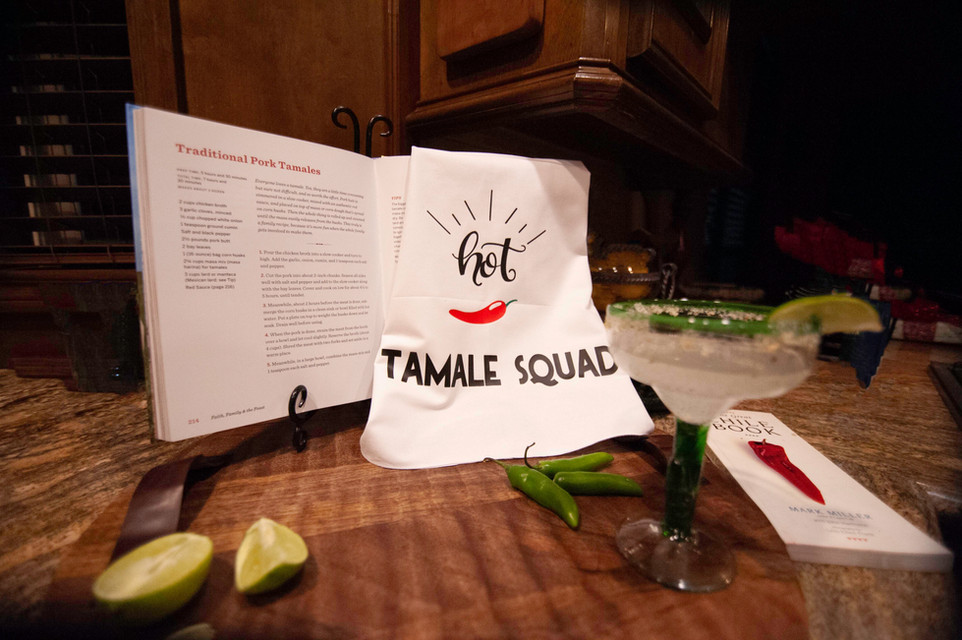 Customized Aprons For Tamalada Party