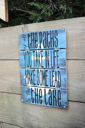 Personalized Lake House Signs