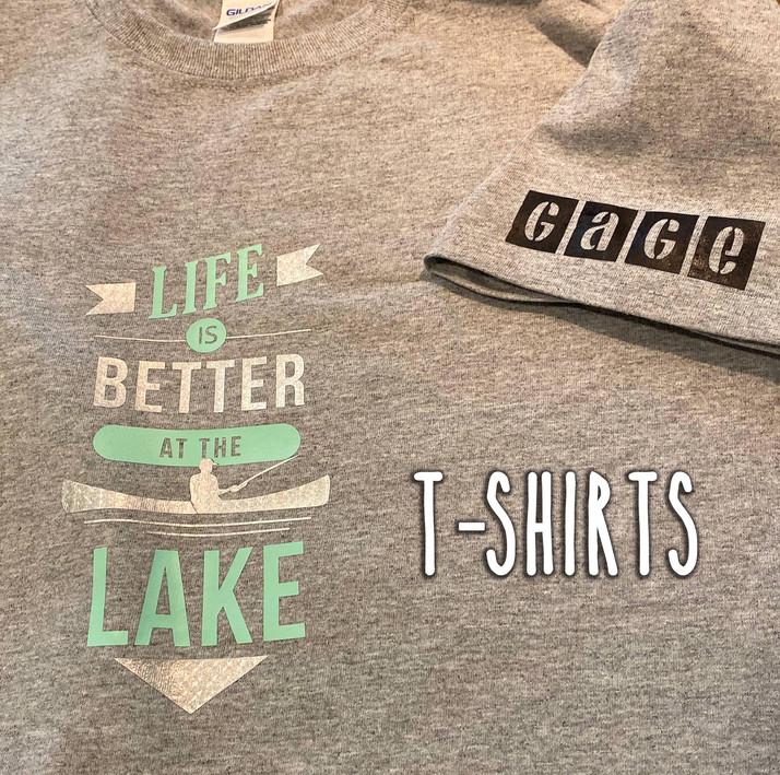 Custom TShirt Design Lake Houston