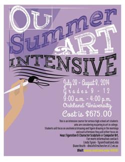 OU Art Intensive 2014
