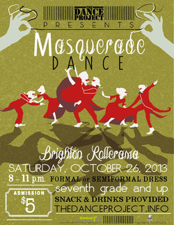 Masquerade Dance Poster