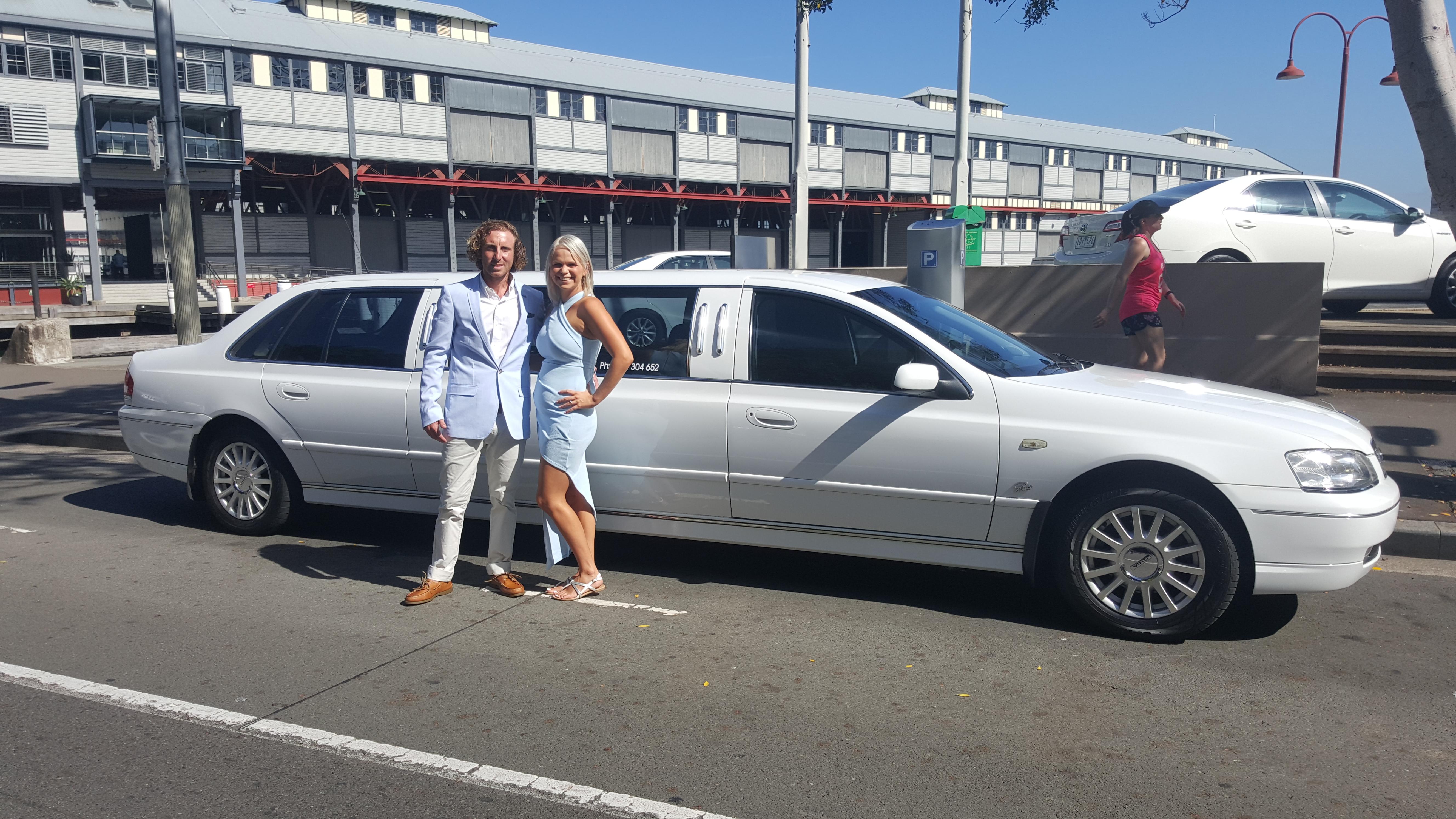 Stretch Ford Ghia Limousine