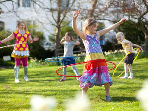 Active kids are more likely to grow into active adults!
