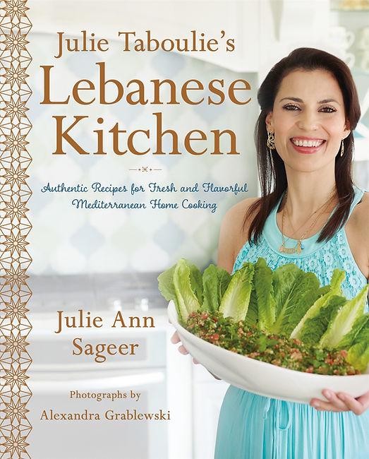 Julie Taboulie Lebanese Cookbook