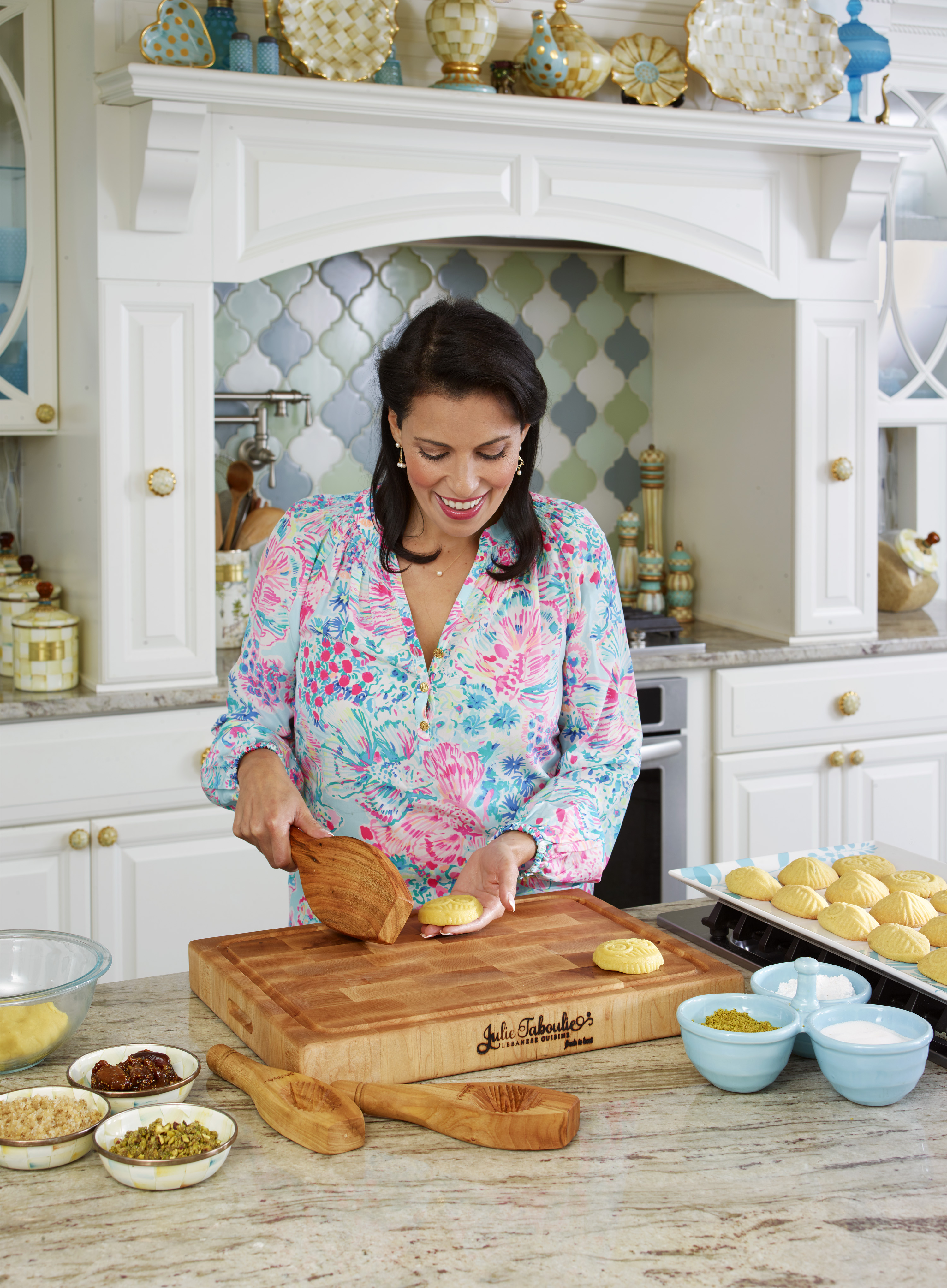 Julie Taboulie Cutting Board