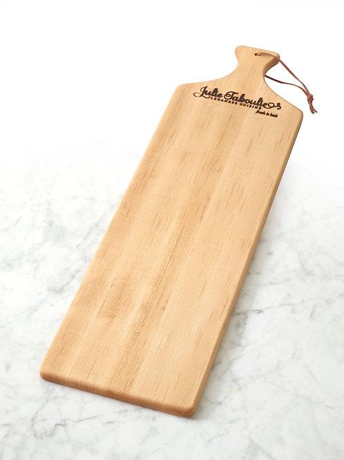 Julie Taboulie Mezze Board, Long-Grain, Maple