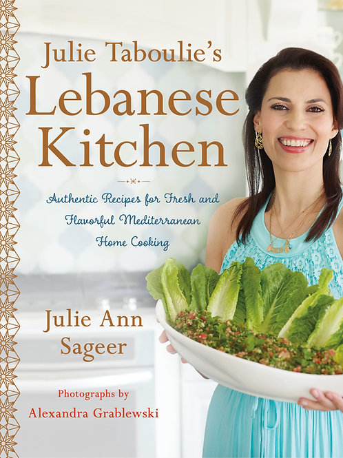 Personally Signed Edition Cookbook by Julie Taboulie
