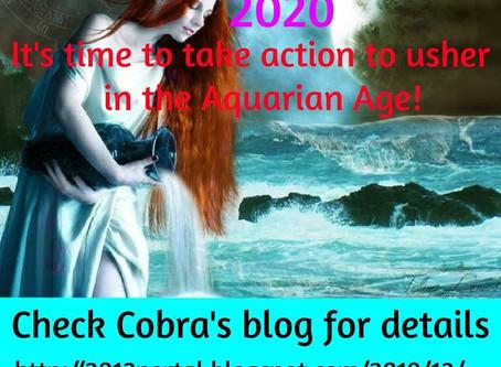 AGE OF AQUARIUS ACTIVATION 2020-01-11/12