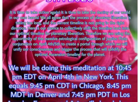 An open letter to all spiritual leaders  ~ Call from the Goddess to Unite in Global Mass Meditation