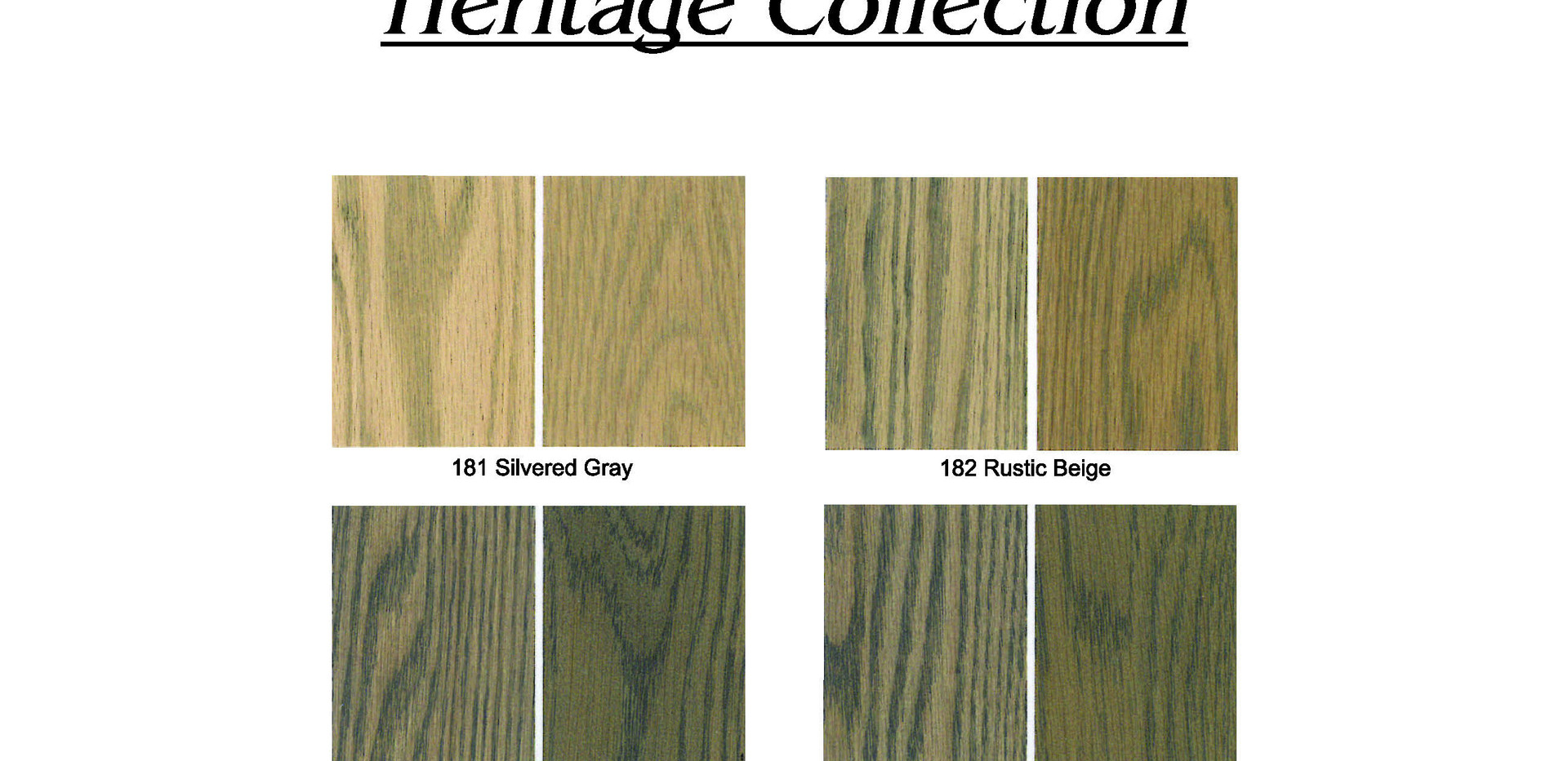 Heritage Color Collection