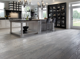 Modern Gray Stained Floors