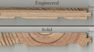 Engineered Vs. Solid Planks