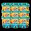 Thumbnail: Set di 9 cocco dorato
