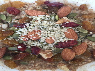 Whole Oats Breakfast Bowl