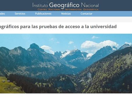 Glosario de términos geográficos para las pruebas de acceso a la universidad