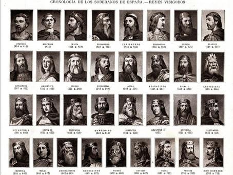 La canción de la lista de los reyes godos