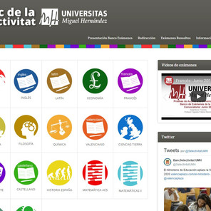 La UMH pone a disposición del alumnado de bachillerato más de 300 exámenes resueltos de Selectividad