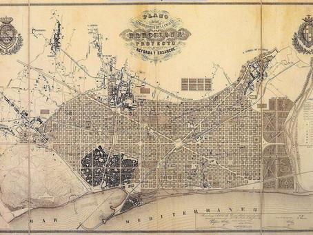 La evolución del mapa de Barcelona a través de los siglos