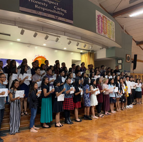 2019 NJHS Induction Ceremony