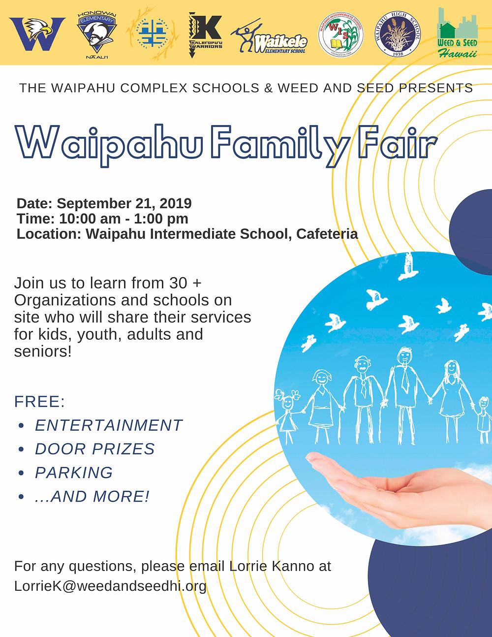 Waipahu family complex flyer