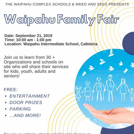 Waipahu Complex Family Fair
