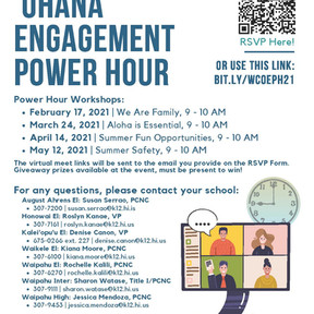 'Ohana Engagement Hour