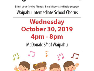 Chorus Fundraiser-McTeacher's Night