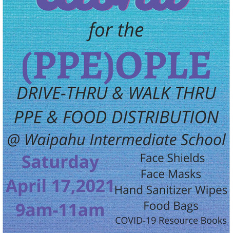 PPE and Food Distribution (04/17/2021)