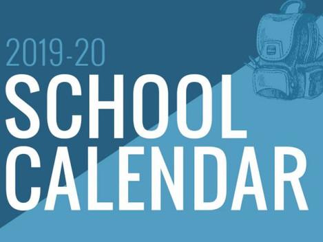 2019-2020 School Year Information