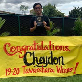 2020 Tawarahara Service Award Winner