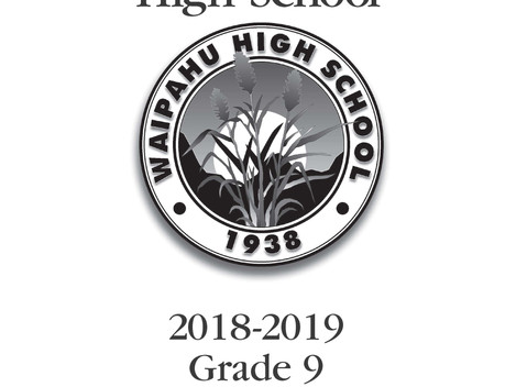Waipahu High School 9th Grade Registration