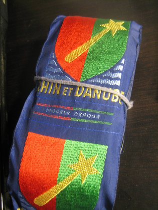 Rhin & Danub French Army shoulder patch 1944