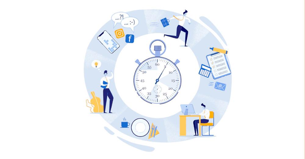 Professional productivity wheel