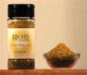 Lemon basil salt
