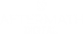 aftermath digital Transparent white logo