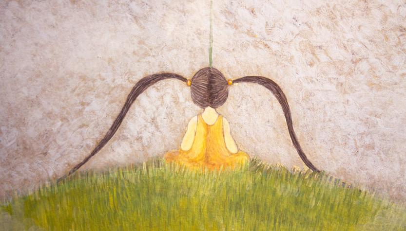 Il più piccolo tra i fiori (particolare)