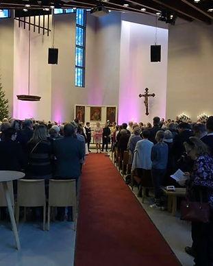 Pispalan kirkko siunattiin rempan jälkee