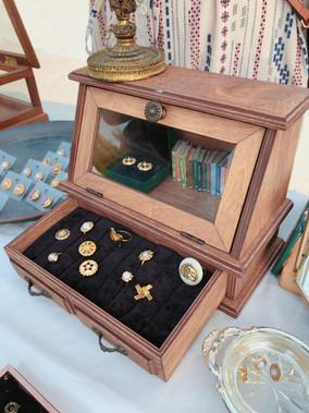 飾品收納|女生必學!超簡單質感飾品收納盒DIY
