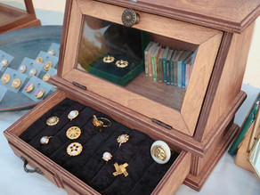 飾品收納 女生必學!超簡單質感飾品收納盒DIY