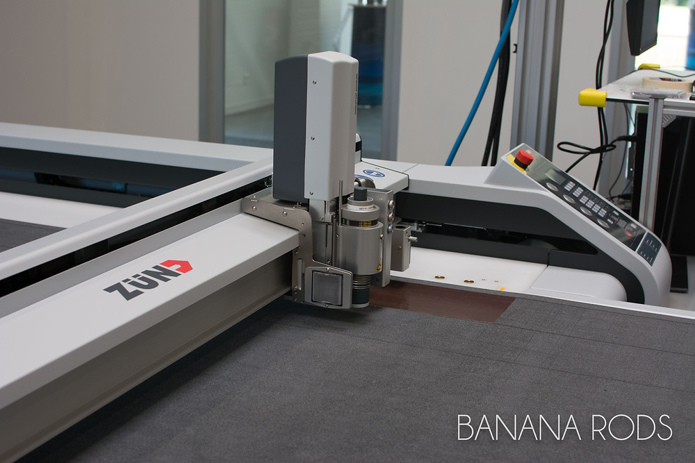 The robotic cutting machine - Banana Rods