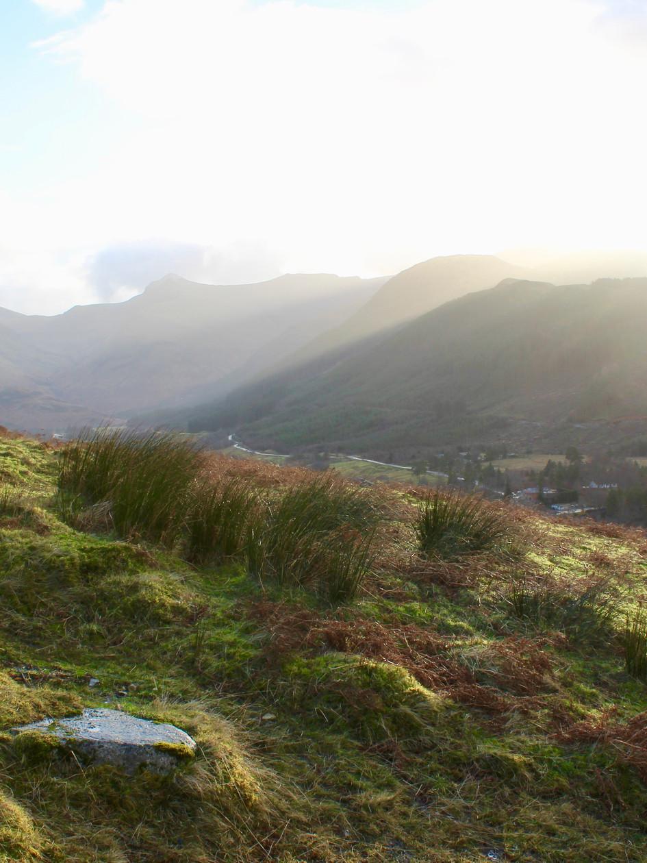 View from Ben Nevis, Scottish Highlands