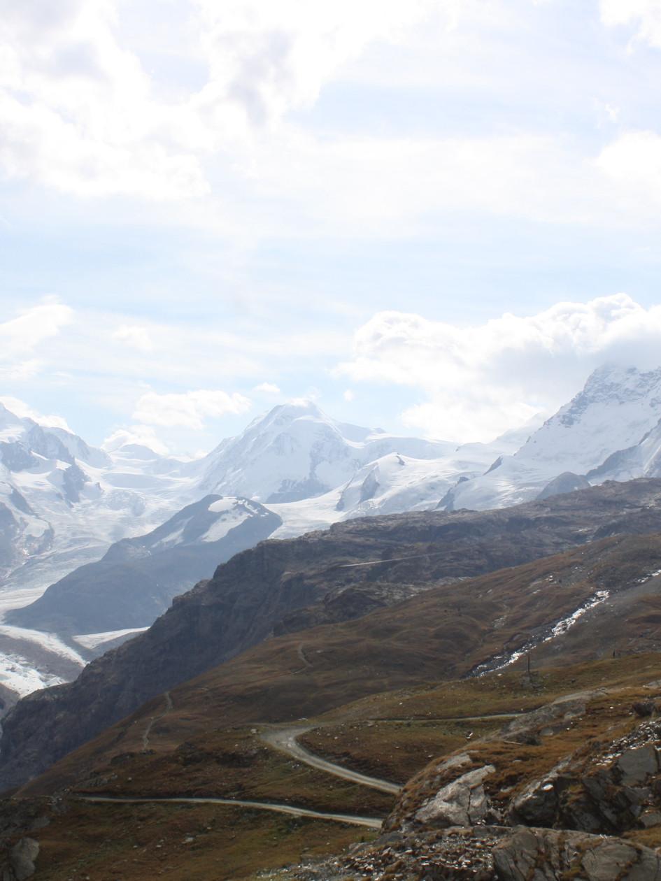 Glacier from Matterhorn, Switzerland