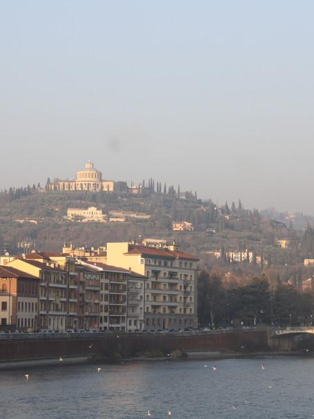 View from Bridge, Verona, Italy