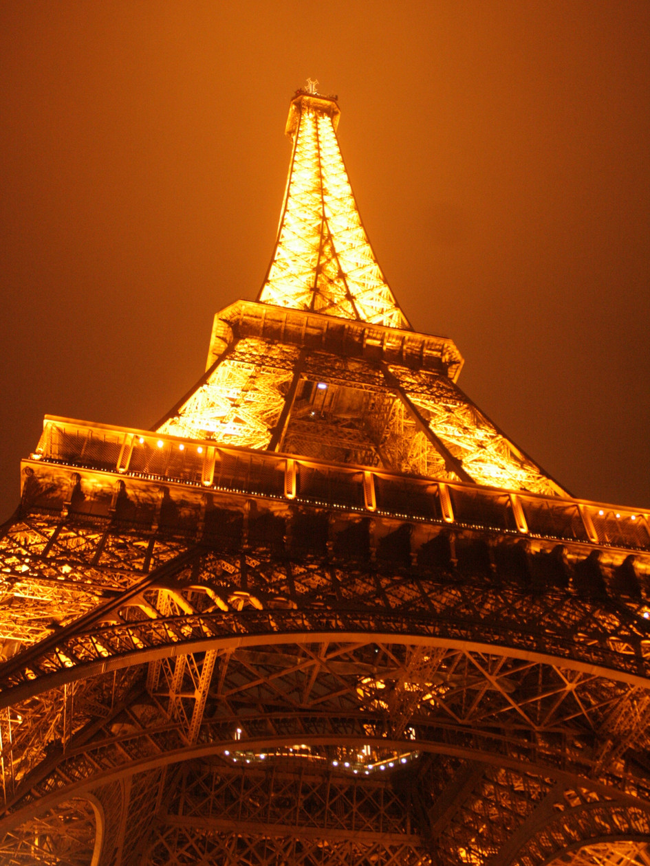 Eiffel Tower from Below, Paris, France