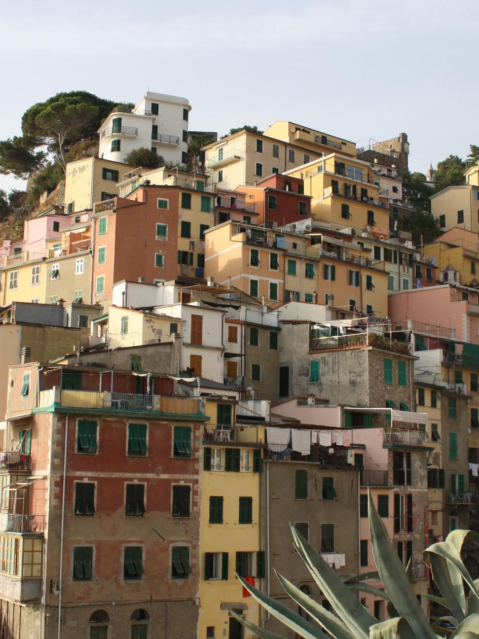 Cinque Terre Buildings, Italy