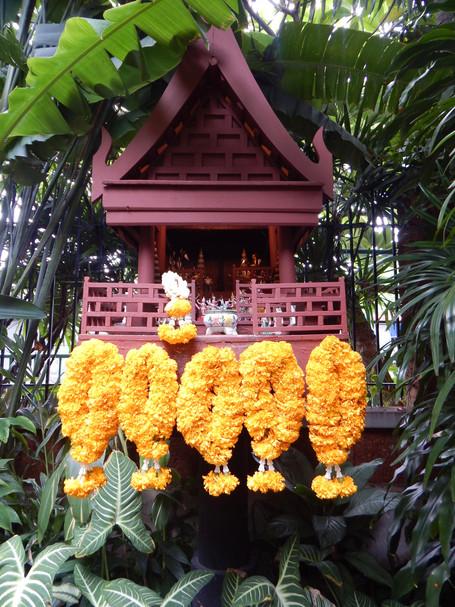 Spirit House at Jim Thompson House, Bangkok, Thailand